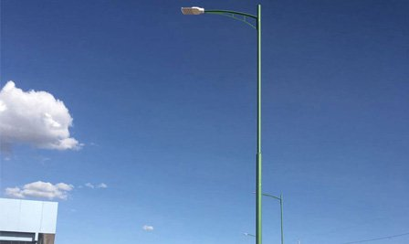 BBE LED Street light enter into Bolivia
