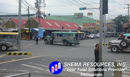 Traffic Light Project in Philippines.