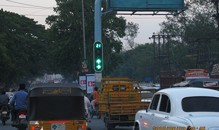 LED Traffic Light in Hyderabad India