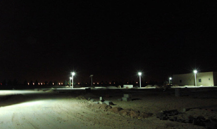BBE Solar LED Street Lights in Qatar