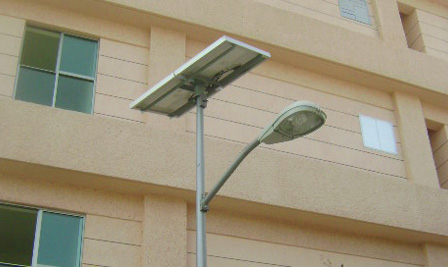 Solar LED Street Light, SP90 in Mexico