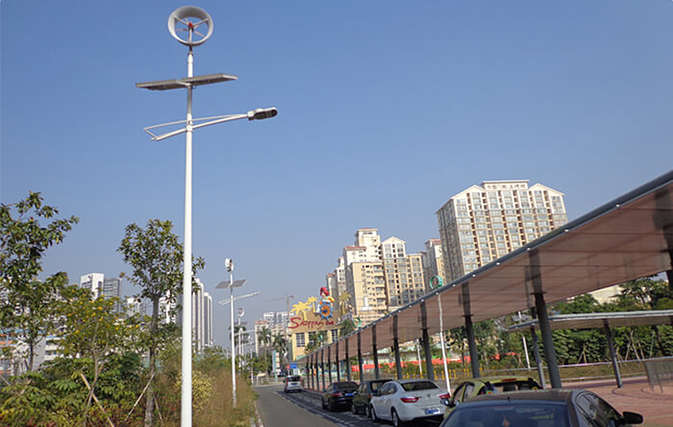 Solar + Wind + LU1 + LU2 in Meilin, Shenzhen, China