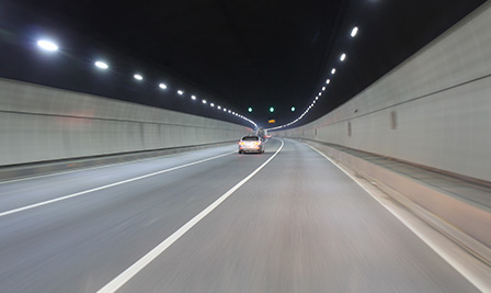 BBE E8 in the TangLang Tunnel, Shenzhen, China