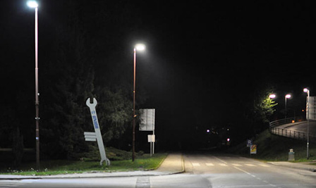 BBE LED Street lights in Slovenia