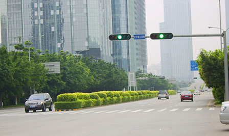 BBE LED Traffic Light in Shenzhen