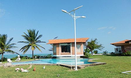 BBE LU1 Solar Lighting in Brazil