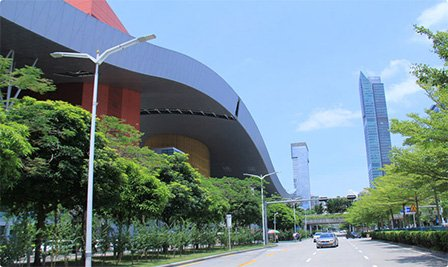 BBE LS6 in the Shenzhen Civic Center