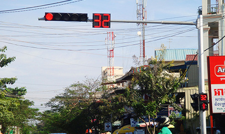 BBE LED Traffic Light and Countdown Timer Project in Cambodia