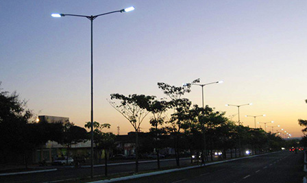 LED Street Light, LU6 in Palmas, Brazil