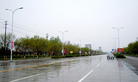 LED Street Light, LU6 in Shandong, China