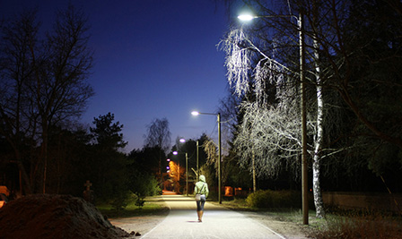 LED Street Light LU2 in Estonia