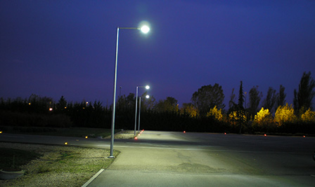 LED Street Light, LU2 in Gerona, Spain