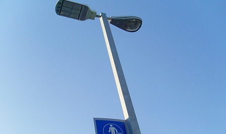 LED Street Light LU4 series in Chile