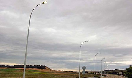 LED Street Light, LU4 in Bilbao Spain