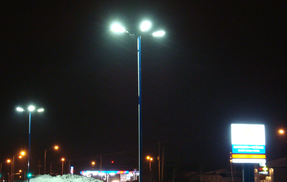LED Street Lighting LU6 in Montreal Canada