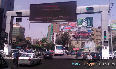 LED Traffic Lights from BBE in Egypt