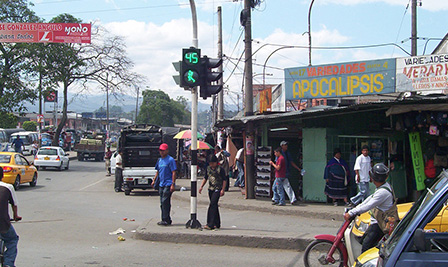 LED Traffic Light in Colombia-1
