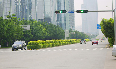 LED Traffic Light project in city hall of Shenzhen