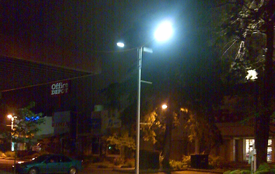 LED Street Light, SP90 in Qingdao China