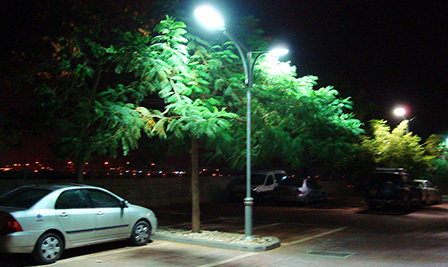 BBE LED Street Light, LU4 in Israel