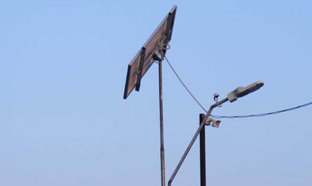 BBE Solar LED Street Lighting, LU2 in Deva, Romania