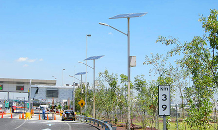 Solar LED Street Light LU2 in Mexico