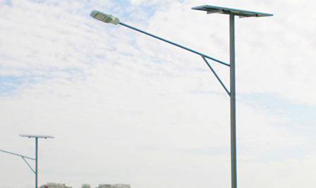 Solar LED Street Light LU2 series in Singapore