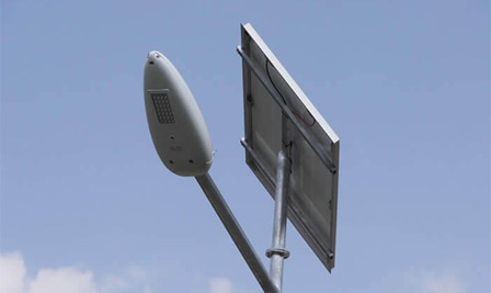 Solar LED Street Light, SP90 in Dubno, Slovak