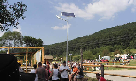 Solar LED Street Light, SP90 in Havlickuv Brod, Czech