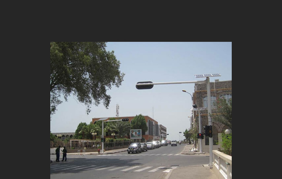 BBE Has Installed the First Solar Traffic Lights System in Djibouti