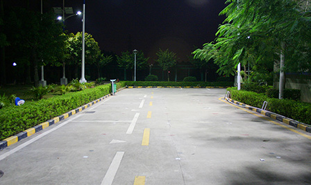 Solar and Wind Turbine LED Street Light LU4 in China